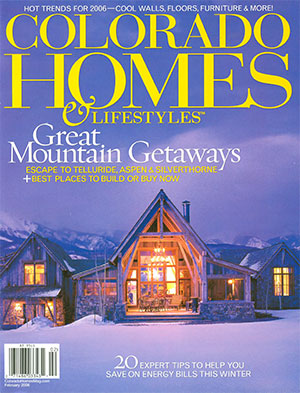 Colorado Homes magazine 2006 cover