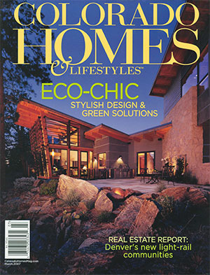Colorado Homes magazine 2007 cover