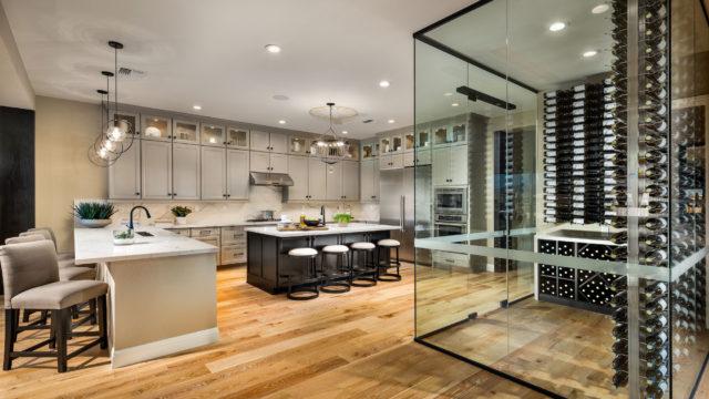 Kitchen and Wine Closet
