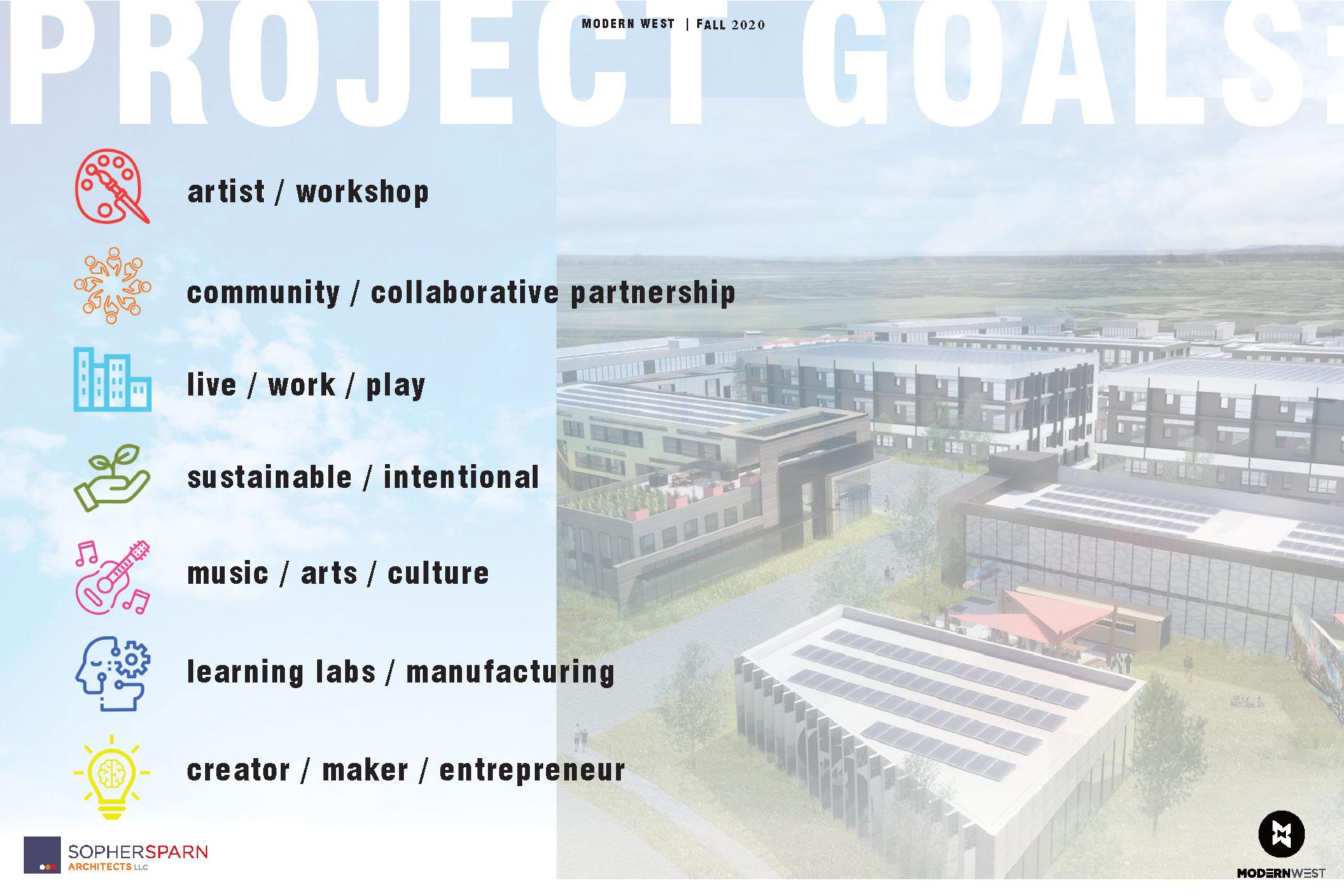 ModernWest project goals